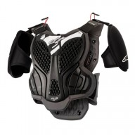 Chest Roost Protective Motocross Alpinestars A-5S Youth Black Grey