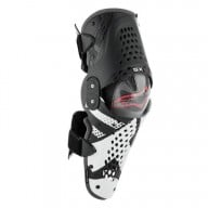 Motocross Knieprotektoren Alpinestars SX-1 Black White Red
