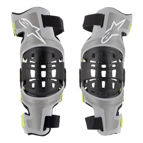 Motocross Knieprotektoren Set Alpinestars Bionic-7