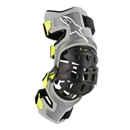 Motocross Knee Braces Set Alpinestars Bionic-7