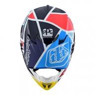 Motocross Helmet Troy Lee Designs SE4 Carbon Metric Navy