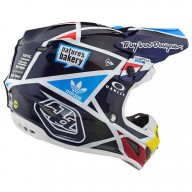 Casque Motocross Troy Lee Designs SE4 Carbon Metric Navy