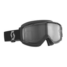 Maschera motocross Scott Split OTG LS nero,Occhiali Motocross