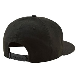 Motocross Cap Troy Lee Design Classic Signature Black,Beanies Caps