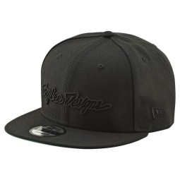 Motocross Kappe Troy Lee Design Classic Signature Black