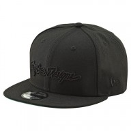 Motocross Cap Troy Lee Design Classic Signature Black
