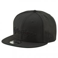 Motocross Kappe Troy Lee Design Classic Signature Black