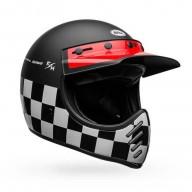 Motocross vintage helmet Bell Moto-3 Fasthouse Checkers