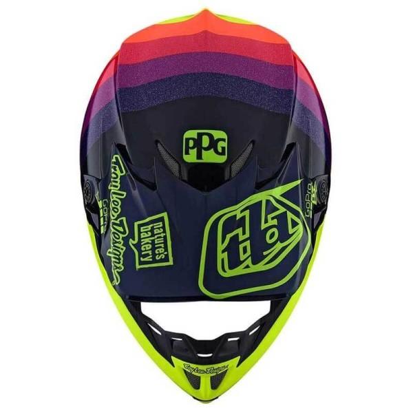 Casco de motocross Troy Lee Design SE4 Carbon Mirage