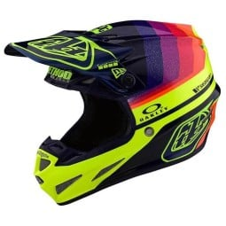 Casco motocross Troy Lee Design SE4 Carbon Mirage,Caschi Motocross