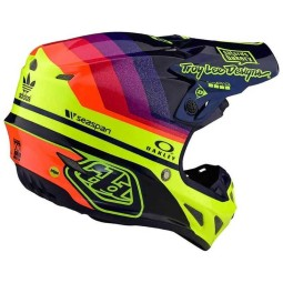 Casque motocross Troy Lee Design SE4 Carbon Mirage