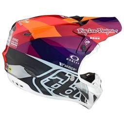 Casque motocross Troy Lee Design SE4 Composite Jet Red