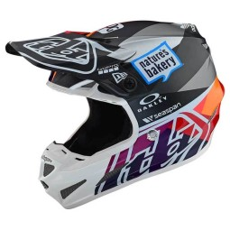 Casco motocross Troy Lee Design SE4 Composite Jet Red,Caschi Motocross