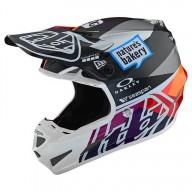 Motocross helm Troy Lee Design SE4 Composite Jet Red