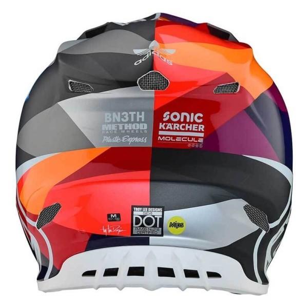 Motocross helmet Troy Lee Design SE4 Composite Jet Red