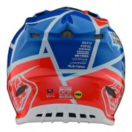 Casco de motocross Troy Lee Design SE4 Composite Metric Ocean
