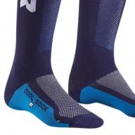Motocross-Socken kind Thor MX Cool Sock Blau