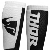 Motocross youth socks Thor MX Sock white black