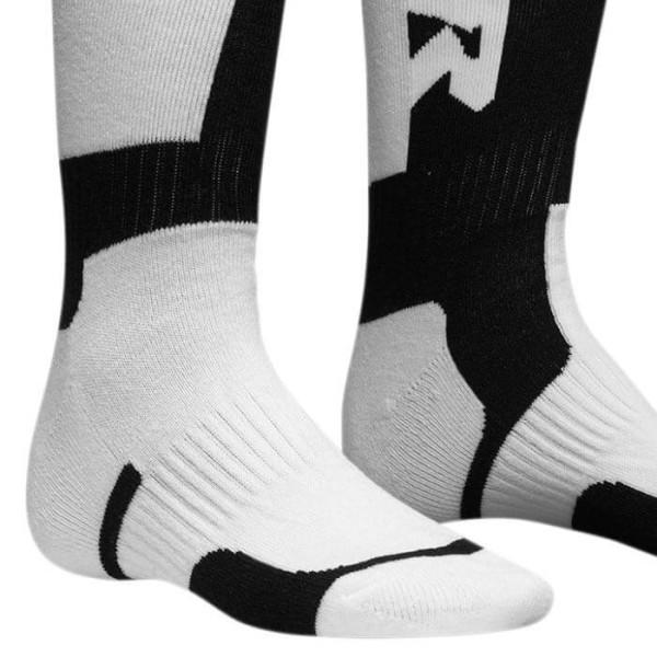 Motocross-Socken kind Thor MX Sock white black