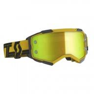 Motocross goggles Scott Fury MX Enduro yellow black