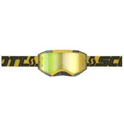 Motocross brille Scott Fury MX Enduro gelb schwarz