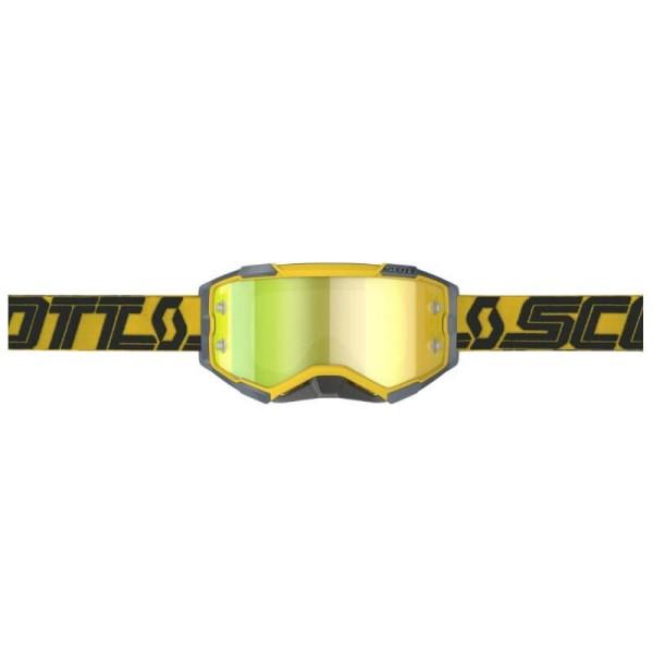 Motocross brille Scott Fury MX Enduro gelb schwarz