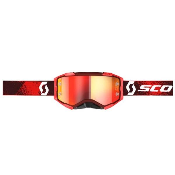 Motocross brille Scott Fury MX Enduro rot