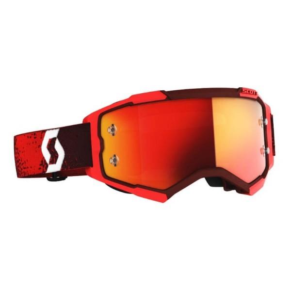 Motocross goggles Scott Fury MX Enduro red