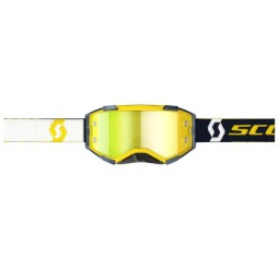 Occhiali motocross Scott Fury MX Enduro giallo blu