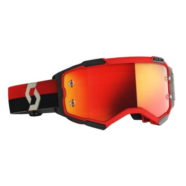 Gafas motocross Scott Fury MX Enduro rojo negro