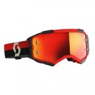 Motocross goggles Scott Fury MX Enduro red black