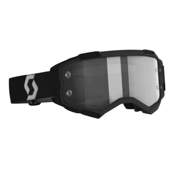 Motocross goggles Scott Fury LS MX Enduro black
