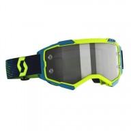 Gafas motocross Scott Fury LS MX Enduro amarillo azul
