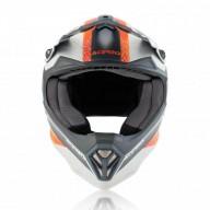 Casco motocross niño Acerbis Steel orange grey
