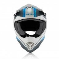 Motocross junior helmet Acerbis Steel blue grey