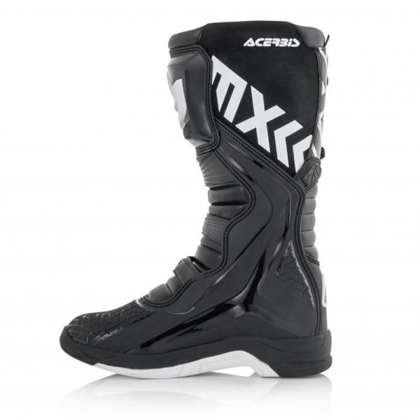 Motocross stiefel Acerbis X-Team black white