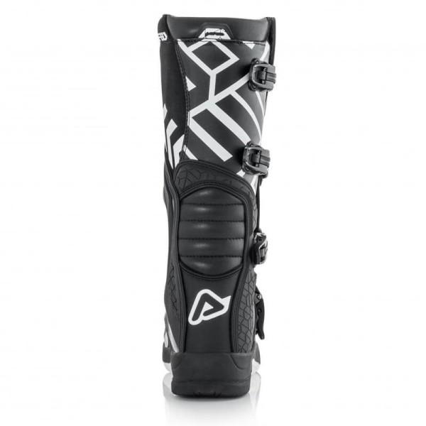 Bottes motocross Acerbis X-Team black white