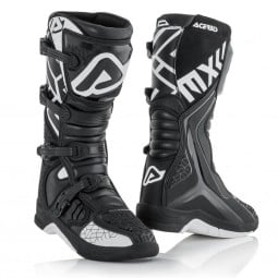 Motocross boots Acerbis X-Team black white,Motocross Boots