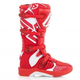 Motocross boots Acerbis X-Team red white