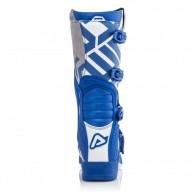 Bottes motocross Acerbis X-Team blue white