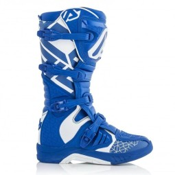 Bottes motocross Acerbis X-Team blue white,Bottes Motocross