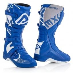 Motocross boots Acerbis X-Team blue white,Motocross Boots