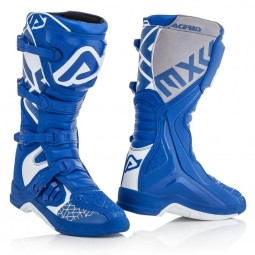 Stivali motocross Acerbis X-Team blue white