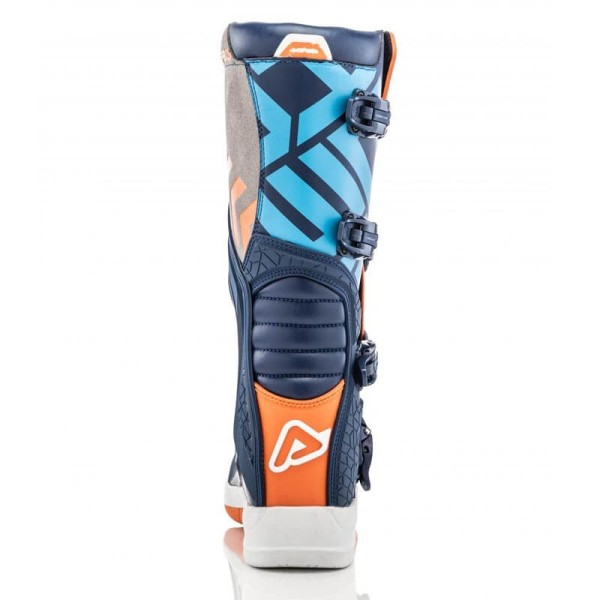 Motocross stiefel Acerbis X-Team blue orange