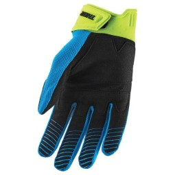 Motocross handschuhe Thor Rebound blau gelb