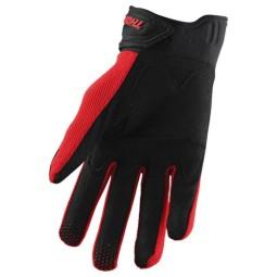 Gants motocross Thor Rebound rouge noir