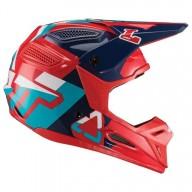 Motocross helmet Leatt Gpx 5.5 red