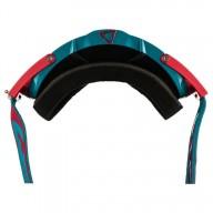 Motocross goggles Leatt Velocity 6.5 red