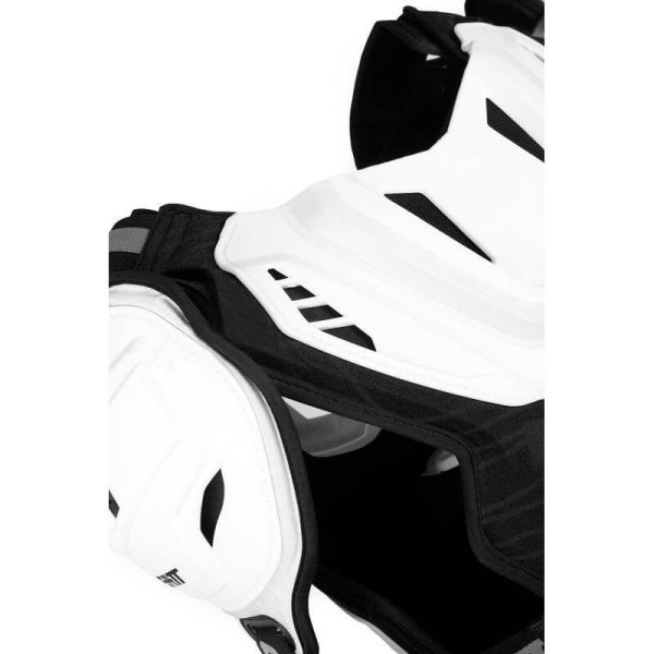 Motocross Brustpanzer Leatt 5.5 pro white