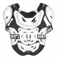 Peto Protector motocross Leatt 5.5 pro white